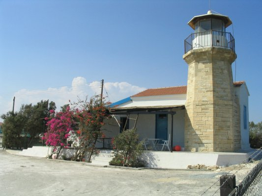 Kiti Lighthouse - Copyright 2008 5B8AP