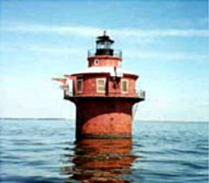 Craighill Chan. Lower Range Front Light, MD - Copyright 1998