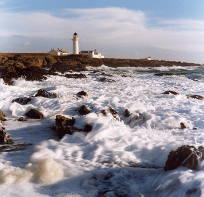 Langness Lighthouse - Copyright 2008 John Cole